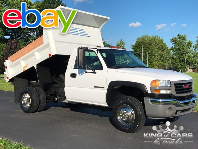 2005 Gmc Sierra 3500 Rcab MASON DUMP BOX 1-OWNER ONLY 5K MILES WOW