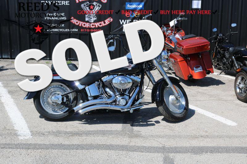 2005 Harley Davidson Fat Boy FLSTFI | Hurst, Texas | Reed's Motorcycles in Hurst Texas