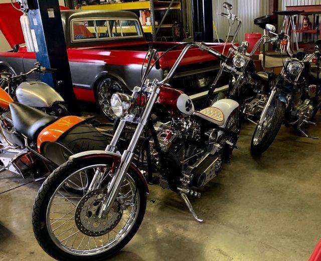 2005 Harley RED BOBBER