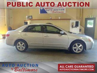 2005 Honda ACCORD EX    JOPPA, MD   Auto Auction of Baltimore  in Joppa MD