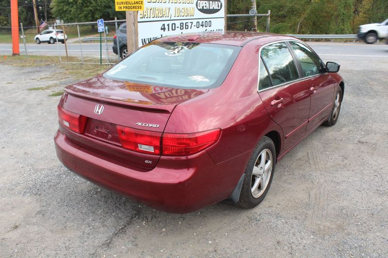 2005 Honda Accord EX-L  city MD  South County Public Auto Auction  in Harwood, MD