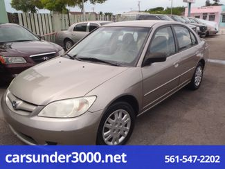 2005 Honda Civic LX Lake Worth , Florida