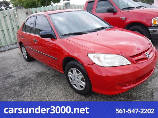 2005 Honda Civic VP Lake Worth , Florida