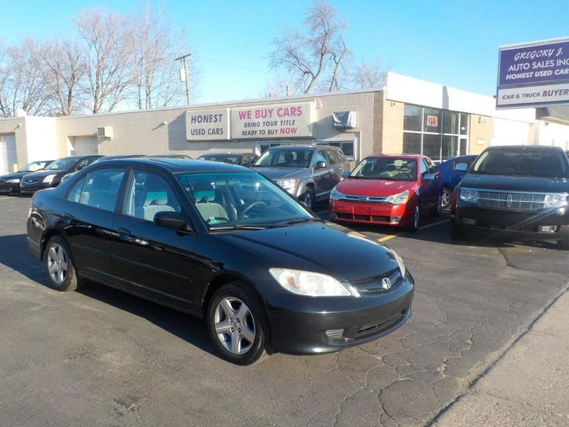 2005 Honda Civic EX   Roseville, MI   Gregory J Auto Sales Inc. In