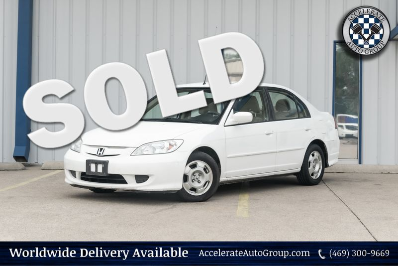 2005 Honda Civic Hybrid in Rowlett Texas
