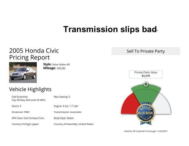 2005 Honda Civic LX Salt Lake City, UT