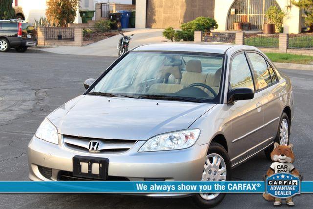 2005 Honda CIVIC LX SEDAN 87K NEW TIRES SERVICE RECORDS in Woodland Hills CA, 91367