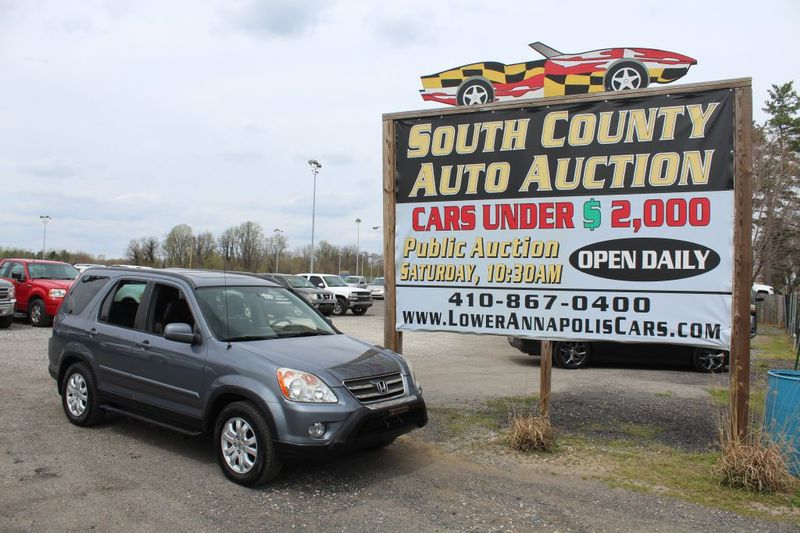 2005 Honda CR-V EX SE  city MD  South County Public Auto Auction  in Harwood, MD