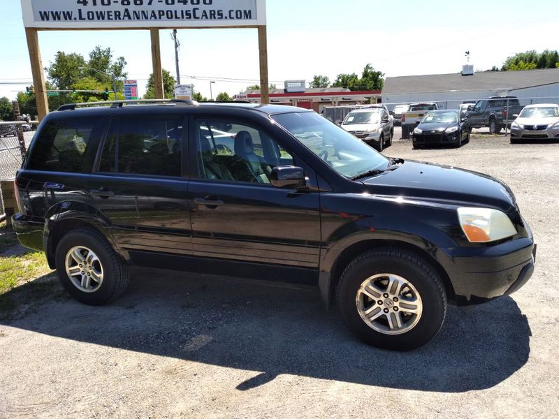 2005 Honda Pilot EX-L with RES  city MD  South County Public Auto Auction  in Harwood, MD