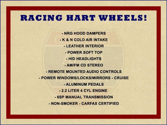 2005 Honda S2000 - RACING HART WHEELS! Mooresville , NC 1