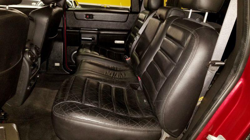 2005 Hummer H2 4x4  BLACK LEATHER  SUV LOW MILES | Palmetto, FL | EA Motorsports in Palmetto, FL