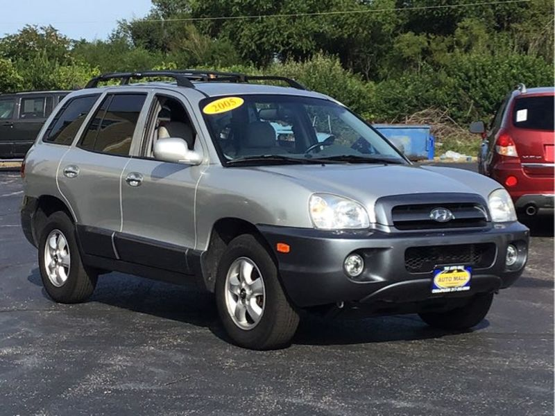 2005 Hyundai Santa Fe GLS | Champaign, Illinois | The Auto Mall Of  Champaign In ...