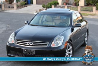 2005 Infiniti G35 SEDAN NAVIGATION SYSTEM XENON LEATHER in Woodland Hills CA, 91367