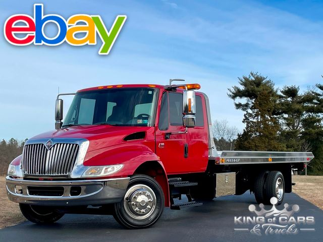 2005 International 4300 Dt466 EXT CAB ROLLBACK ONLY 62K MILES PRE-EMISSION WOW