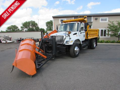 2005 International 7400 Plow with Sander and wing 10' Dump Box  in St Cloud, MN