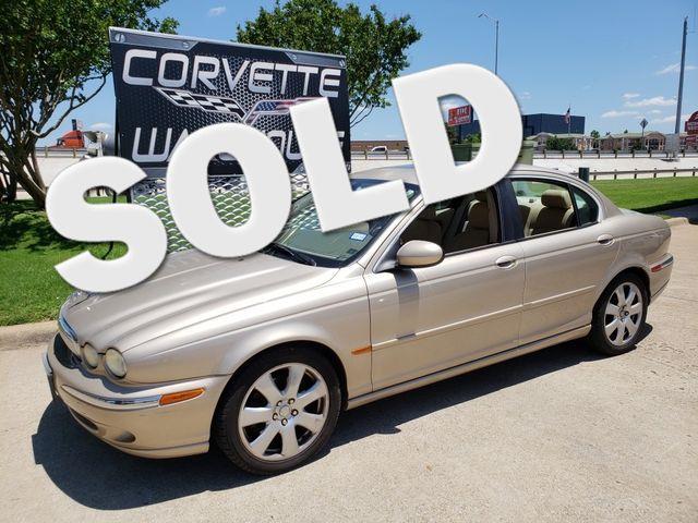 2005 Jaguar X-TYPE 3.0L Sedan Auto, CD Player, Alloys 124k | Dallas, Texas | Corvette Warehouse  in Dallas Texas