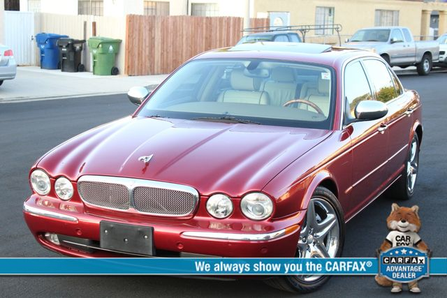 2005 Jaguar XJ VANDEN PLAS NAVIGATION SERVICE RECORDS