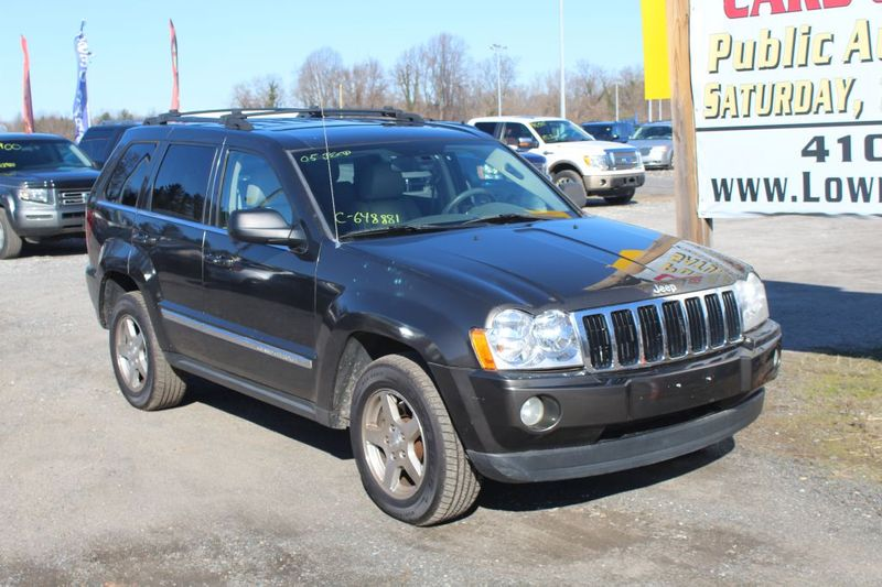 2005 Jeep Grand Cherokee Limited  city MD  South County Public Auto Auction  in Harwood, MD