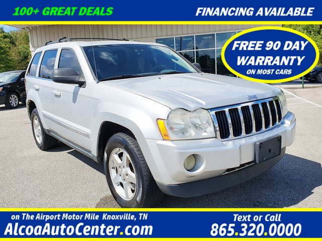 2005 Jeep Grand Cherokee Limited 4WD 4.7L V8 w/DVD