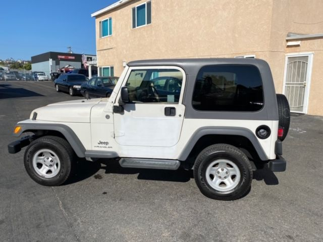 2005 Jeep RHD Wrangler Sport 4WD - RIGHT HAND DRIVE TRAIL RATED 4x44X4