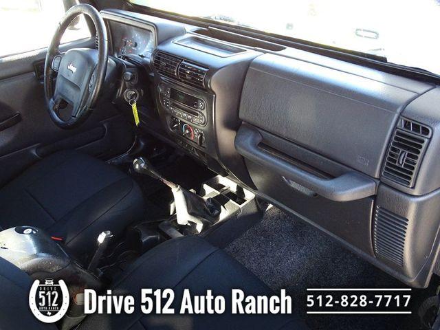 2005 Jeep Wrangler 4.0 Liter Best Motor Jeep Made in Austin, TX 78745