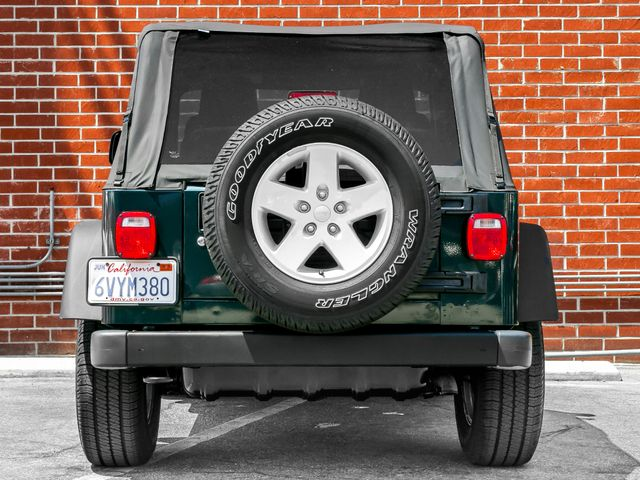 2005 Jeep Wrangler X Burbank, CA 4