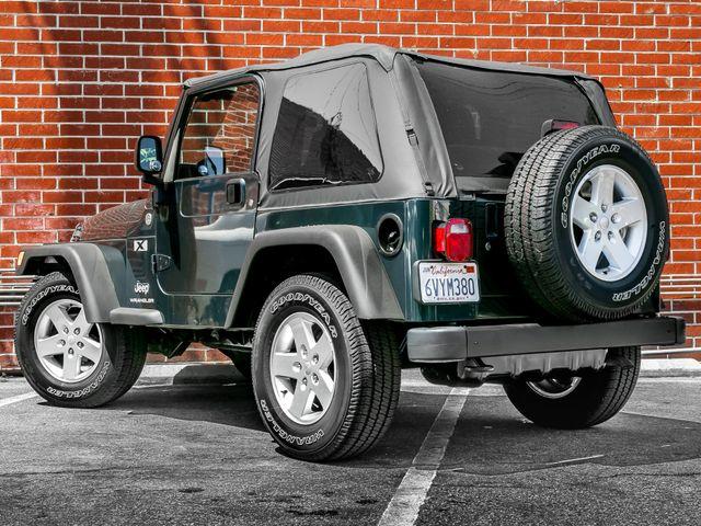 2005 Jeep Wrangler X Burbank, CA 8