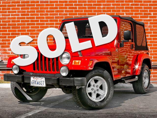 2005 Jeep Wrangler X Burbank, CA 0