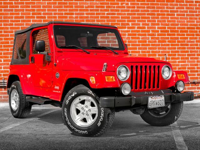 2005 Jeep Wrangler X Burbank, CA 1