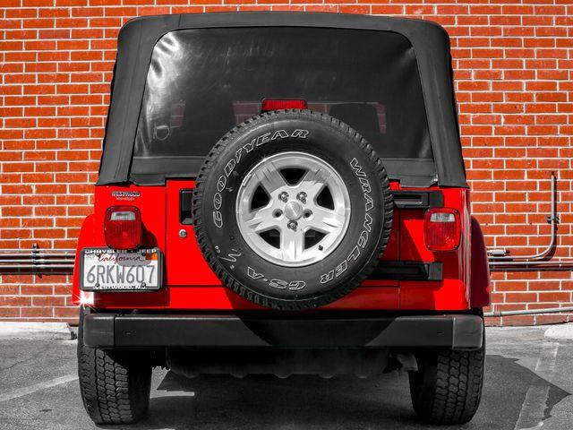 2005 Jeep Wrangler X Burbank, CA 3