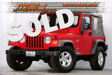 2005 Jeep Wrangler X - 4.0L AMC - 5 Speed manual - A/C in Los Angeles