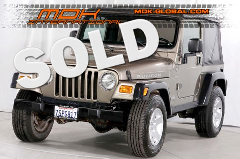 2005 Jeep Wrangler Rubicon - 6 speed manual - Alpine sound in Los Angeles