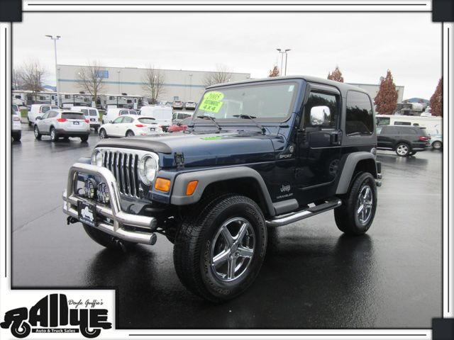 2005 Jeep Wrangler Sport 2dr 4WD in Burlington WA, 98233
