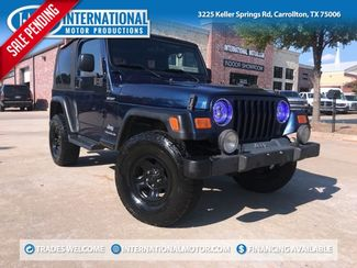 2005 Jeep Wrangler Sport 4X4 in Carrollton, TX 75006