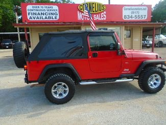 2005 Jeep Wrangler Unlimited   Fort Worth, TX   Cornelius Motor Sales in Fort Worth TX