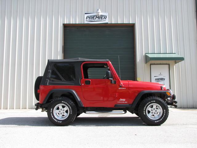 2005 Jeep Wrangler Sport Jacksonville , FL 9