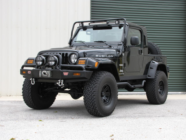 2005 Jeep Wrangler Rubicon Rubitrux pickup