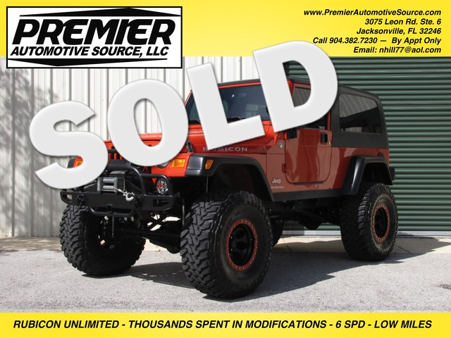 2005 Jeep Wrangler Unlimited Rubicon LJ