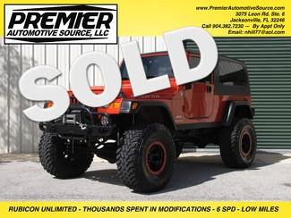 2005 Jeep Wrangler Unlimited Rubicon LJ in Jacksonville FL, 32246