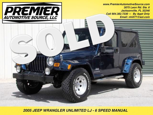2005 Jeep Wrangler Unlimited LJ