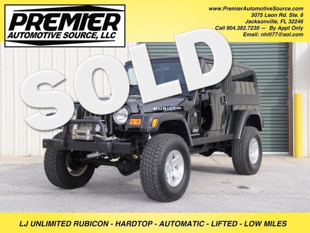 2005 Jeep Wrangler Rubicon Unlimited LJ
