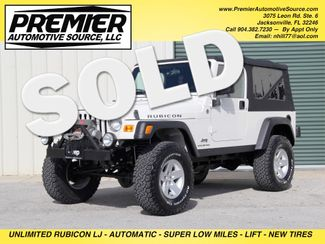 2005 Jeep Wrangler Rubicon Unlimited LJ Jacksonville , FL