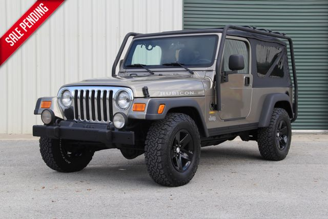 2005 Jeep Wrangler Rubicon Sahara Unlimited LJ