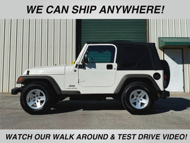 2005 Jeep Wrangler SE 4.0 Inline 6 Engine