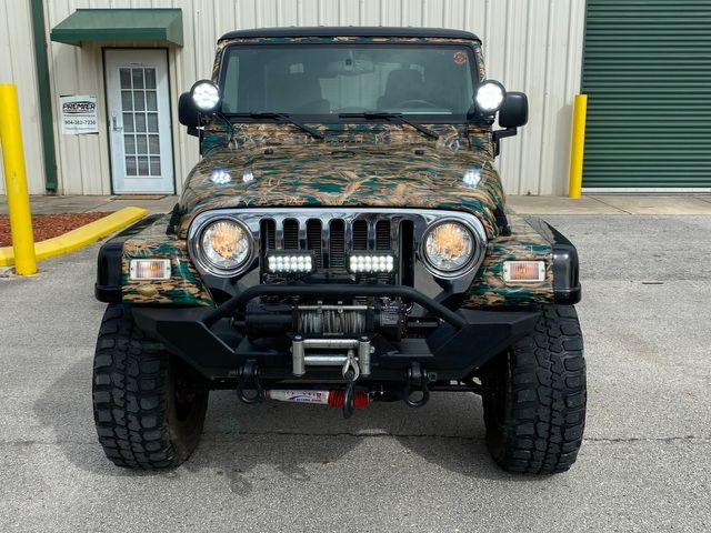 2005 Jeep Wrangler Unlimited custom camo paint in Jacksonville , FL 32246