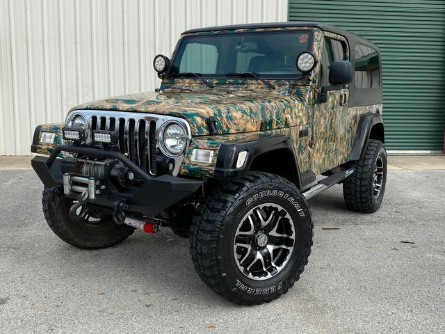 2005 Jeep Wrangler Unlimited custom camo paint in Jacksonville , FL 32246
