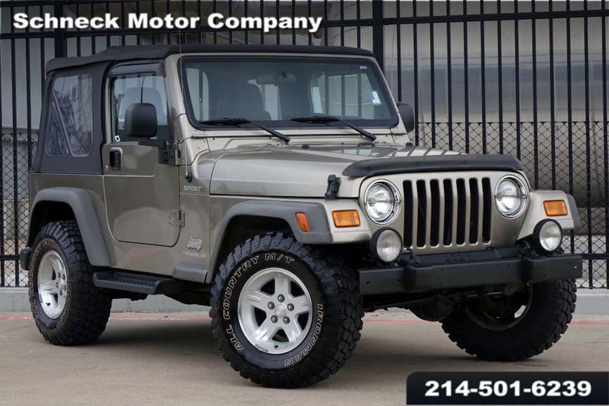U003c 2005 Jeep Wrangler Sport In Plano TX, ...