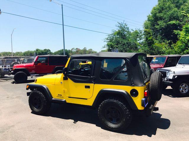 2005 Jeep Wrangler 4.0L Riverview, Florida 5