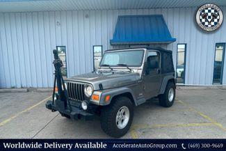 2005 Jeep Wrangler 4.0L I-6 6-SPD MANUAL SPORT 4X4 CLEAN CARFAX NICE! in Rowlett