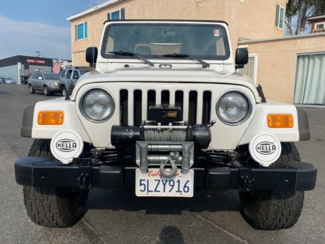 2005 Jeep Wrangler SE 4X4 6-Spd MANUAL OFF ROAD READY W/ ROUGH COUNTRY SHOCKS, WINCH, NEW TIRES, ONLY 97K